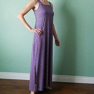 Long Columbia maxi dress